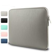 Waterproof Laptop Bag Case For MacBook Pro 13 15 Air 13 Shockproof PU Laptop Sleeve Bag