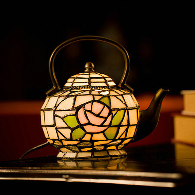 The Teapot Lamp, Small Night Lamp Of The Head Of A Bed Bedroom Lamp,