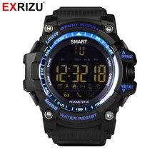 EXRIZU EX16 Sport Bluetooth Smart Watch Xwatch 5ATM IP67 Waterproof Smartwatch Pedometer Stopwatch Alarm Clock LONG
