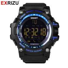 EXRIZU EX16 Sport Bluetooth Smart Watch Xwatch 5ATM IP67 Waterproof Smartwatch Pedometer Stopwatch Alarm Clock LONG TIME STANDBY