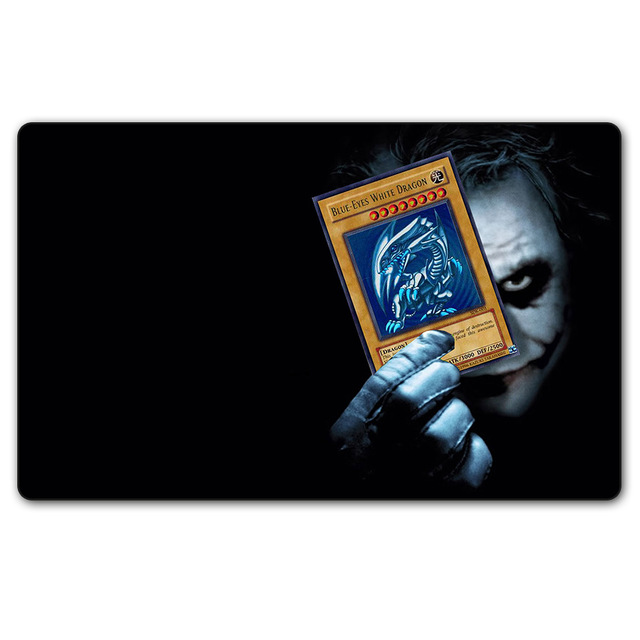 Magical board cards Games mgt joker YGO electronic playmat Play Mat playmats mousepad 60x35cm table pad with storage bag