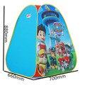 Niños Niños Juegan Tiendas Jardín Al Aire Libre Plegable Portable Casa de Juguete Tienda Pop-Up Multicolor Independiente W02-1