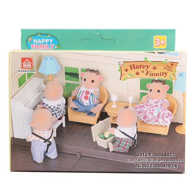 Happy Family Miniature Doll House