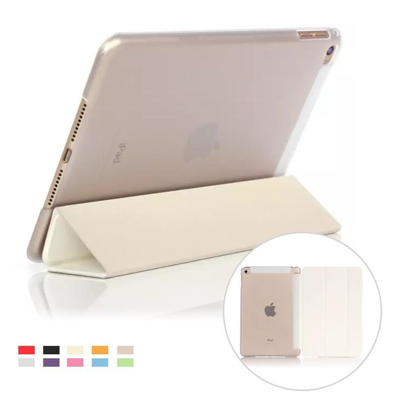 Кожа PU сиамские Cover для iPad mini 4 flid Мода случай стенд для Apple iPad mini 4 7.9 одноцветное Smart protetive крышкой