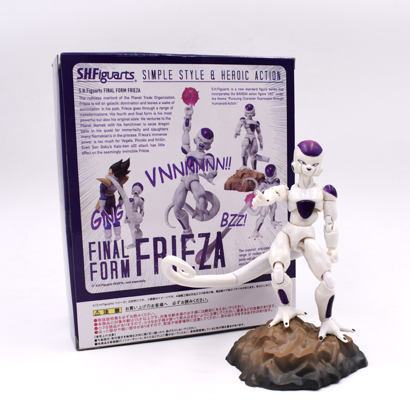 11.5cm Dragon Ball Z SHF Frieza Joint Anime Action Figure PVC Collection Figures Toy Collection For Christmas Gift Free Shipping 19cm dragon ball z bulma sexy anime action figure pvc new collection figures toys collection for christmas gift