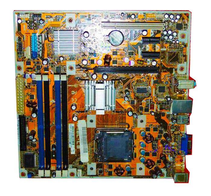 ФОТО 462797-001 459163-001 DX2400 Motherboard IPIBL-LB LGA 775 DDR2 mATx
