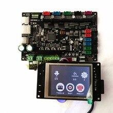 МКС sbase + МКС TFT32 дисплей 3D контроллер принтера комплект Встроенный микроконтроллер ARM Cortex смузи доска для smoothieware