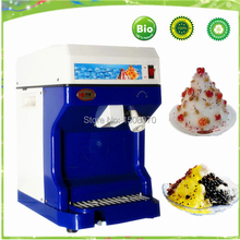 free shipping 220v Commercial ice shaving machine electric block ice crusher snow ice shaver shaved machine