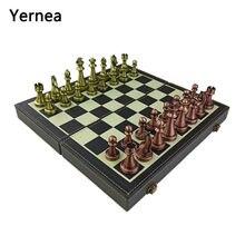 Yernea складной набор шахматных игр металлические шахматные