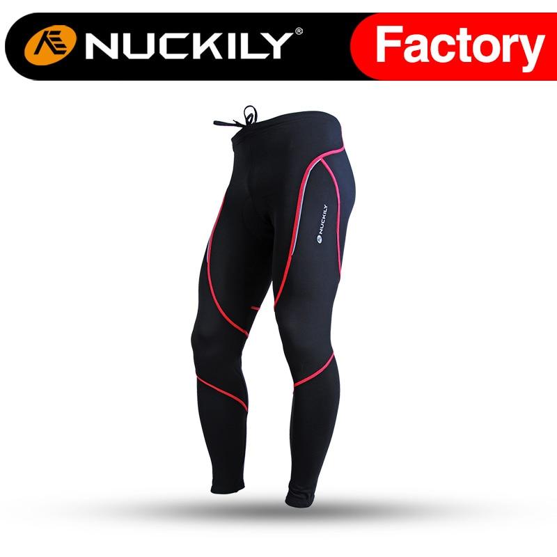 ФОТО Nuckily Men's Cycling Sportswear Fleece Bicycle Tights   NS903-W