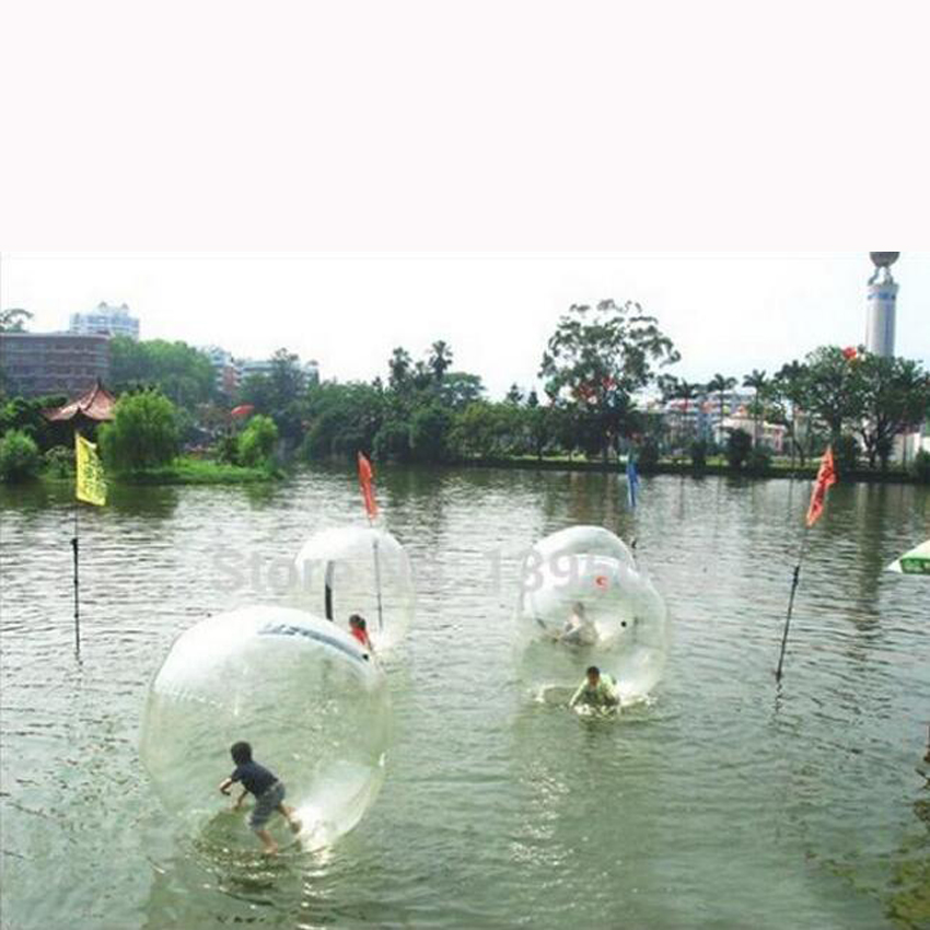 2M Diameter Fun Entertainment Water Ball, Inflatable Water Walking Ball Zorb Ball,For 1-2 Persons