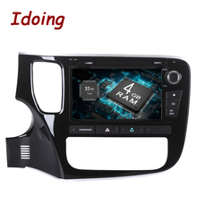2Din 8inch Android8 0 7 1 Car Multimedia Player Steering Wheel For Mitsubishi Outlander 2015 8