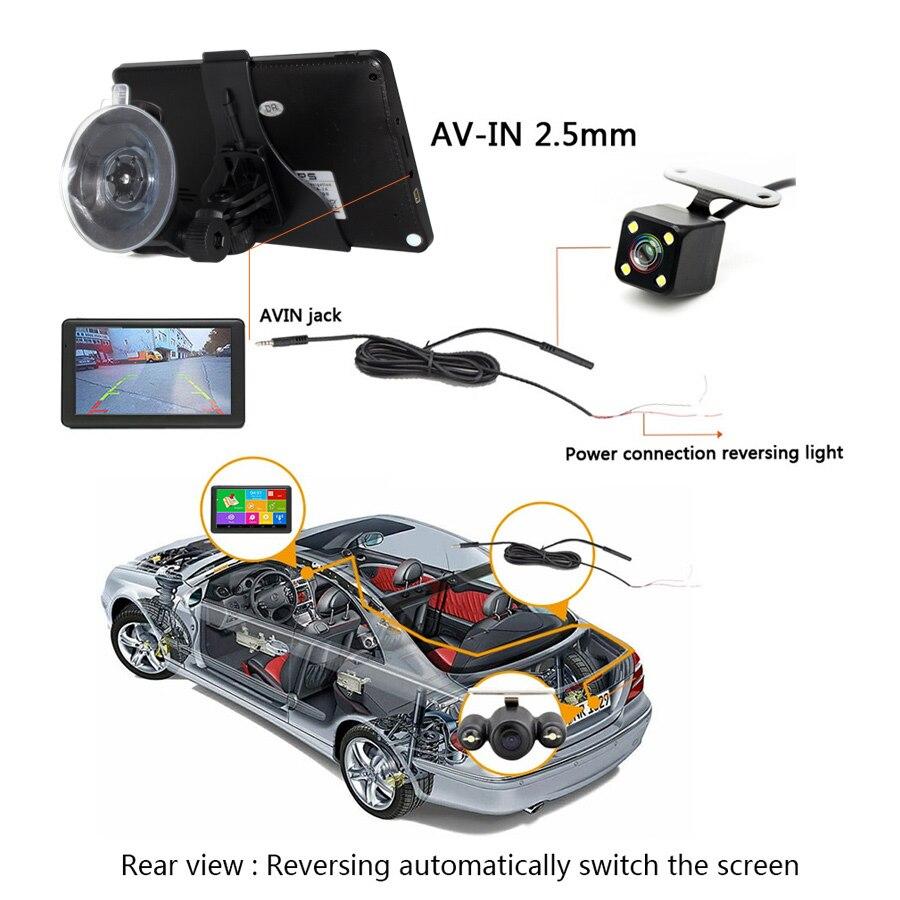 TOPSOURCE Car GPS Navigation Android WIFI Bluetooth FM automobile navigator on