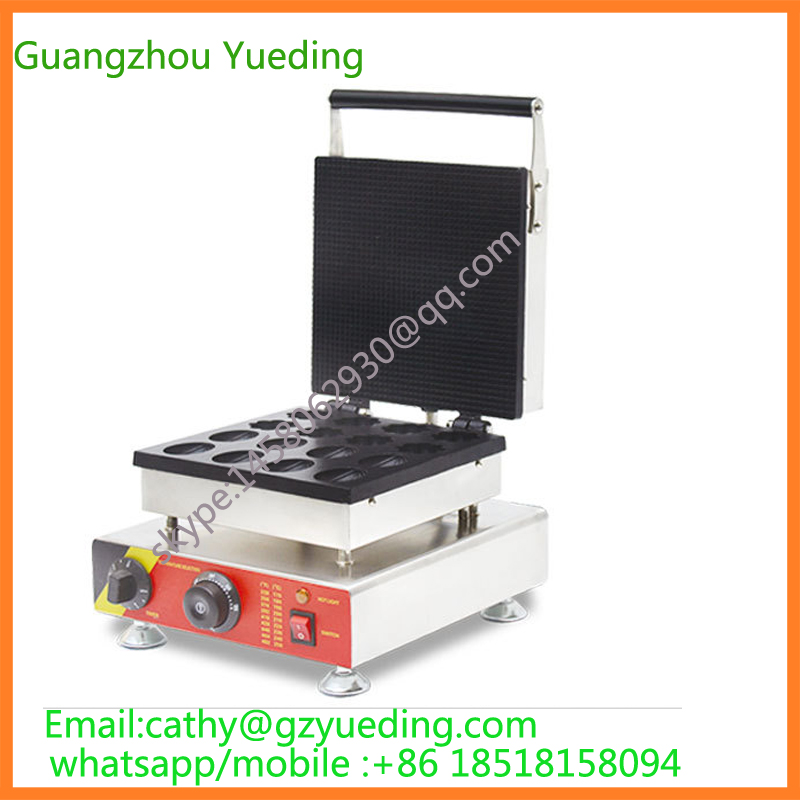 Commercial waffle making machine electric nut and flower shape waffle maker for salf