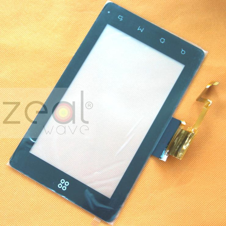 Free Shipping Black Color 7 inch Capacitive Digitizer Glass Panel For SmartQ N7 G7 Tablet PC MID AZS081 Touch Screen free shipping mimco classico mid pouch claret color