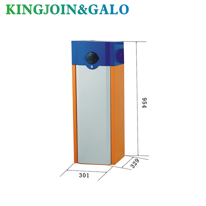 High Performance Barrier Gate Operator Including Support pillarHigh Performance Barrier Gate Operator Including Support pillar