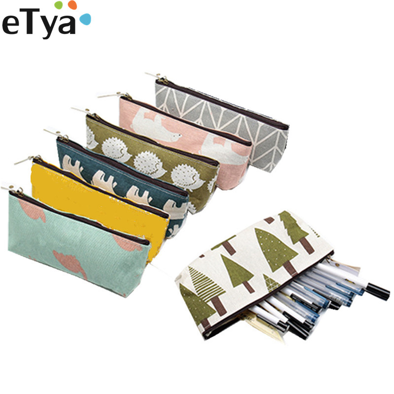 eTya Women Small Cosmetic Bag Organizer Set Cute Travel Makeup Bag Girl Lipstick Brush School Pencil Bag Case Pouch PurseeTya Women Small Cosmetic Bag Organizer Set Cute Travel Makeup Bag Girl Lipstick Brush School Pencil Bag Case Pouch Purse