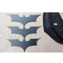 With Opp Bag 15cm NECA DC Comics Batman Arkham The Dark Knight Metal Batarang Replica Action Figure