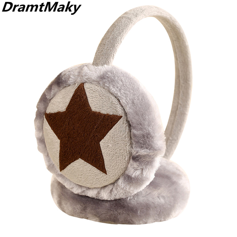 New Fashion Fur Winter Earmuffs For Women Warm Masks Earmuffs Ear Warmers Gifts For Girls Cover Ears Brand Fur Headphones Winter