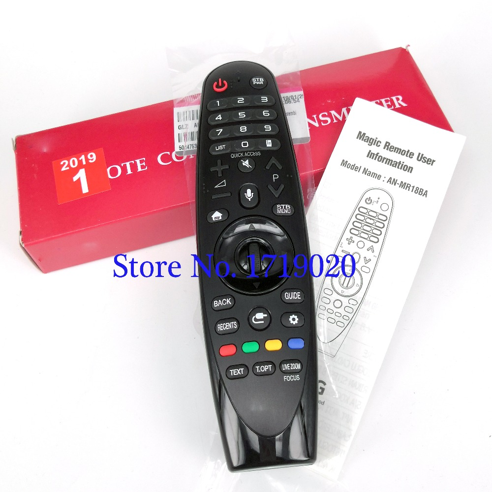New Original For LG AN-MR18BA Voice Mate AEU Magic Remote Control For Select 2018 Smart TV for SK8000 SK8070