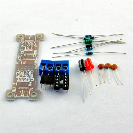 Power module boost module 5V lift 12V l/c MC34063 module DIY electronic production kit IC