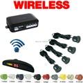 Car LED Monitor Buzzer 4 Sensors Wireless Parking Sensor Backup Radar Black Silver Blue Gray Wihte Red Gold Yellow Orange #CA882