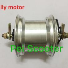 6-дюймовый 6-дюймовый мини-двигатель hally бесщеточный мотор ступицы колеса для мотора скутера, который может поместиться 15*6,00-6 шин с дисковым тормозом phub-144