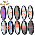 KnightX camera fld uv cpl filter 52mm nd filter 67 star line for canon 5d mark ii for nikon d7100 d5500 d7100 d5200  d5100 58 77