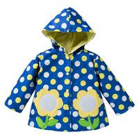 Europe And The United State Spring And Autumn Children S Coat S Girl Lovely Wind Rain