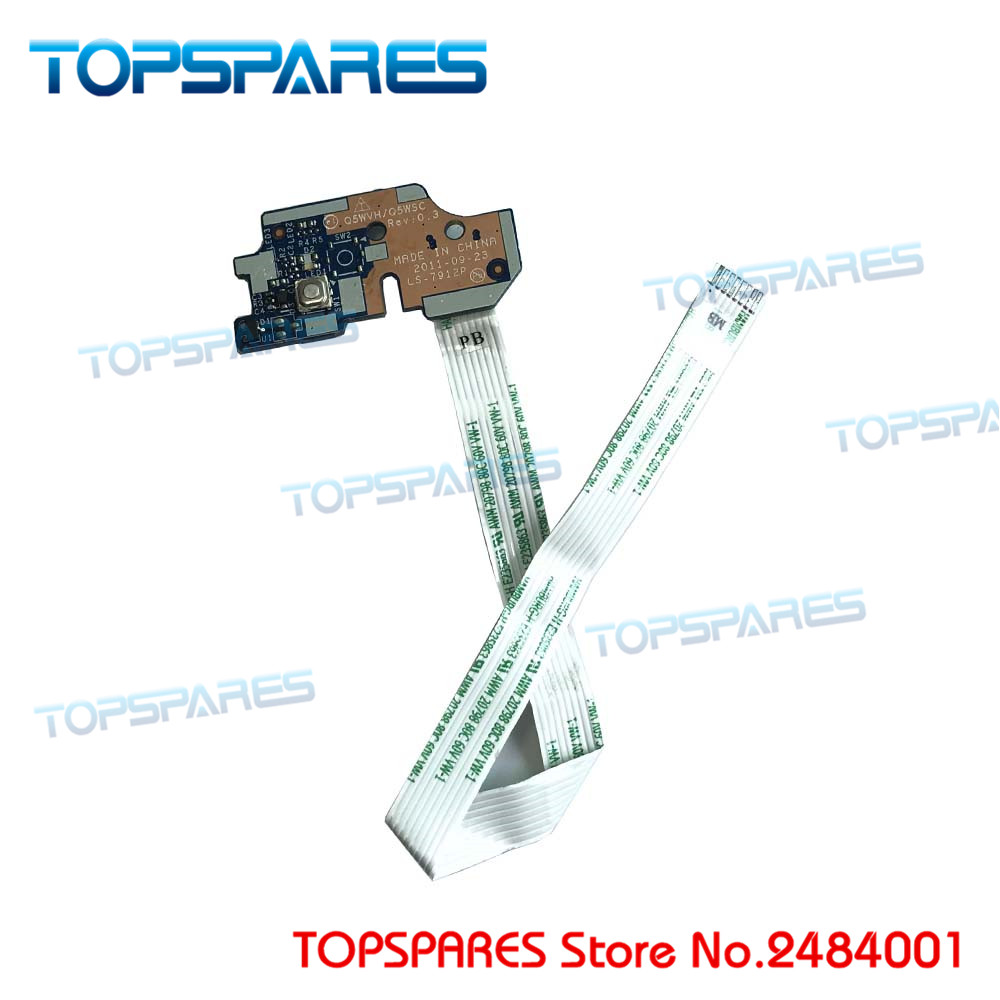 Laptop Button Series Power Switch Board For E1-531 V3-571 On/off P5we0 Ls-7912p 55.rfd02.001 Computer & Office
