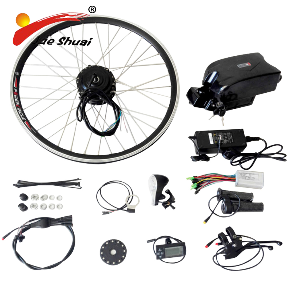250w 350w 500w 36v e bike kit electric bike conversion kit for Motor assisted bicycle kit