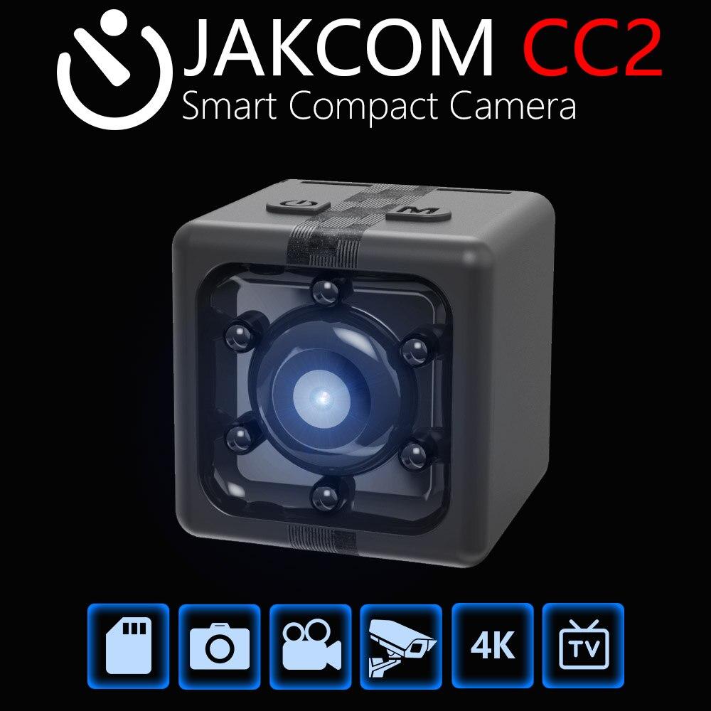 JAKCOM CC2 Intelligent Compact Caméra Vente Chaude dans Mobile Téléphone caméra comme 1080 P Capteur Nuit Vision DVR DV Enregistreur De Mouvement caméscope