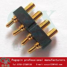 Pitch 2,54mm pogo pin gefederte pogo-pin vergoldung pogo-pin-anschluss für smart lock smartwatch