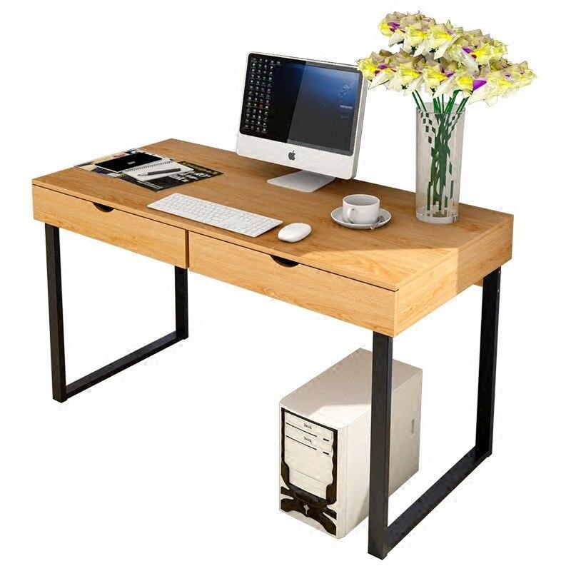 Table d'ordinateur portable avec tiroir Table Basse en bois bureau Simple bibliothèques pour enfants organisateur de Table rangement et Organisations modernes