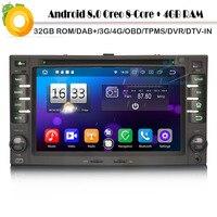 Android 8,0 Авторадио спутниковой DAB + Octa Core Wi Fi 4 г DVD BT gps Bluetooth DVR DVT IN автомобиля радио плеер для KIA CEED Sorento CARENS