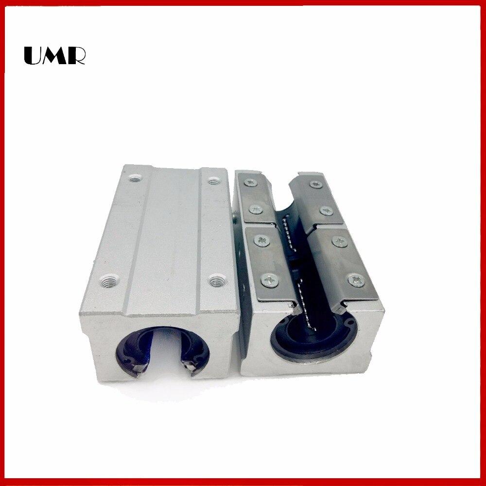 2pcs SBR35LUU / sme35Luu SBR35L UU 35MM SHAFT Linear sbr cnc kit linear ball bearing / linear guide Bearings sme fd iv