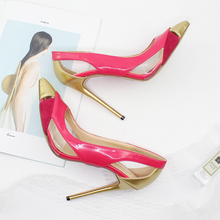 New Fashion Women Pumps Sexy Leopard Cuts Out Stiletto High Heels Shoes Street Style Party Wedding