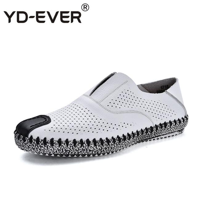 Mocassins en cuir pour hommes Chaussures d'affaires Mode Respirant Driving Chaussures Pour Hommes Mocassins en cuir décontractée gvjbjNVBGg