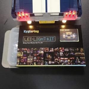 Image 5 - Led אור (גרסה קלאסית) עבור 10265 פורד מוסטנג מירוץ רכב אבני בניין צעצועי מתנות