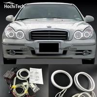 HochiTech Excellent CCFL Angel Eyes Kit Ultra Bright Headlight Illumination For Hyundai Sonata 2002 2003 2004
