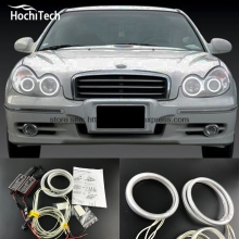 HochiTech Excellent CCFL Angel Eyes Kit Ultra bright headlight illumination for Hyundai Sonata 2002 2003 2004 2005