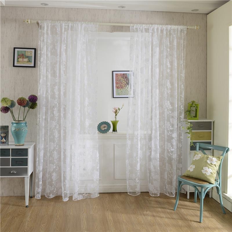 Textiles Para El hogar de Diseño Bolsillo de la Barra Puerta de la Cortina de Tu
