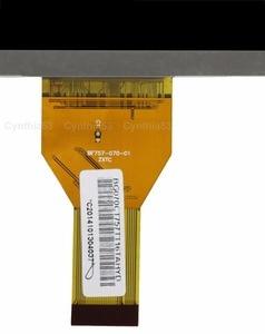 Новый 7-дюймовый 30-футовый ЖК-экран V1 ZXTC WY070ML757CP21B 705-070