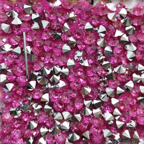 Diamante brillo grueso brillo PU cuero mezclado Color brillo PU tela de cuero tela de costura tela para DIY Fabirc P1289-in Cuero sintético from Hogar y Mascotas    1