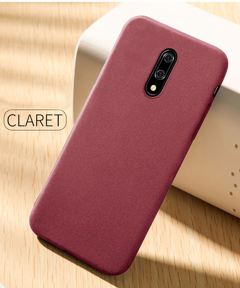 Matte Sandstone Silicone Phone Case For Oneplus Soft Frosted Skin Cover Coque Protection 1