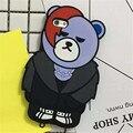 """3d oso de dibujos animados caja del teléfono para apple iphone 7 casos de la cubierta de silicona suave para iphone7 4.7"""""""