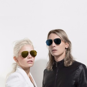Image 2 - Youpin Turok Steinhardt TS Nylon polarisé inoxydable lunettes de soleil coloré rétro 100% uv preuve homme femme pour maison intelligente
