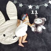 Lovely Miffy Rabbit Bunny Baby Blanket Playmat Blankets Baby Play Rug Baby Game Mat Children Room