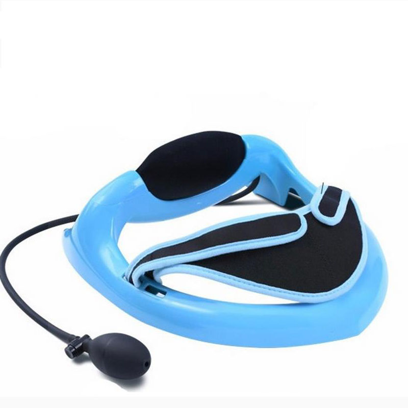 Natural curvature cervical traction apparatus therapeutic cervical spine massager household inflatable cervical vertebra therape cofoe household cervical vertebra bt jz cervical spondylosis massager neck pain traction physiotherapy health device 2017 newest