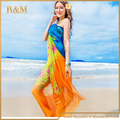 Hot sale beach Fashion Summer Dress women Beachwear pareos beach sarongs Sexy Stylish beach cover up free shipping